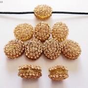 10Pcs-Crystal-Glass-Rhinestones-Pave-Oval-Bracelet-Connector-Charm-Beads-12x14mm-261302136914-7c32