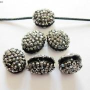 10Pcs-Crystal-Glass-Rhinestones-Pave-Oval-Bracelet-Connector-Charm-Beads-12x14mm-261302136914-c12d
