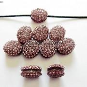 10Pcs-Crystal-Glass-Rhinestones-Pave-Oval-Bracelet-Connector-Charm-Beads-12x14mm-261302136914-c386