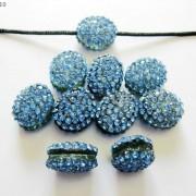 10Pcs-Crystal-Glass-Rhinestones-Pave-Oval-Bracelet-Connector-Charm-Beads-12x14mm-261302136914-cf93