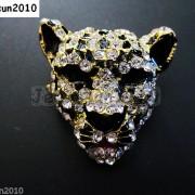 10Pcs-Crystal-Rhinestone-Big-Leopard-Head-Bracelet-Connector-Charm-Beads-371364227966-892d