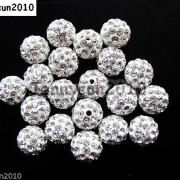 10Pcs-Czech-Crystal-Rhinestones-Pave-Clay-Half-Drilled-Disco-Round-Ball-Beads-371017953193-6a7e