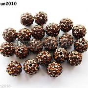 10Pcs-Czech-Crystal-Rhinestones-Pave-Clay-Half-Drilled-Disco-Round-Ball-Beads-371017953193-75ac