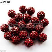 10Pcs-Czech-Crystal-Rhinestones-Pave-Clay-Half-Drilled-Disco-Round-Ball-Beads-371017953193-7cda