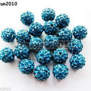 10Pcs-Czech-Crystal-Rhinestones-Pave-Clay-Half-Drilled-Disco-Round-Ball-Beads-371017953193-7fbd