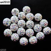 10Pcs-Czech-Crystal-Rhinestones-Pave-Clay-Half-Drilled-Disco-Round-Ball-Beads-371017953193-e3f7