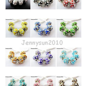 10Pcs-New-Top-Quality-Czech-Crystal-Rhinestones-Spacer-Beads-Fit-European-Charm-370777745668