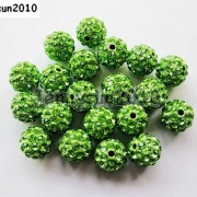 10Pcs-Quality-Czech-Crystal-Rhinestones-Pave-Clay-Round-Disco-Ball-Spacer-Beads-281214667880-1b26