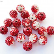 10Pcs-Quality-Czech-Crystal-Rhinestones-Pave-Clay-Round-Disco-Ball-Spacer-Beads-281214667880-1ede
