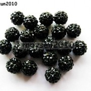 10Pcs-Quality-Czech-Crystal-Rhinestones-Pave-Clay-Round-Disco-Ball-Spacer-Beads-281214667880-28d8