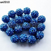 10Pcs-Quality-Czech-Crystal-Rhinestones-Pave-Clay-Round-Disco-Ball-Spacer-Beads-281214667880-2ee8