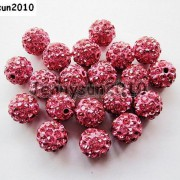 10Pcs-Quality-Czech-Crystal-Rhinestones-Pave-Clay-Round-Disco-Ball-Spacer-Beads-281214667880-40cd