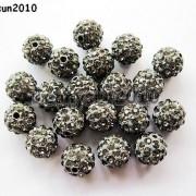 10Pcs-Quality-Czech-Crystal-Rhinestones-Pave-Clay-Round-Disco-Ball-Spacer-Beads-281214667880-4438