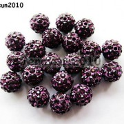 10Pcs-Quality-Czech-Crystal-Rhinestones-Pave-Clay-Round-Disco-Ball-Spacer-Beads-281214667880-4576