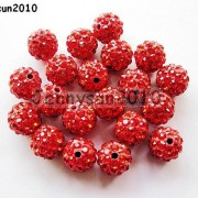 10Pcs-Quality-Czech-Crystal-Rhinestones-Pave-Clay-Round-Disco-Ball-Spacer-Beads-281214667880-847f