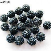 10Pcs-Quality-Czech-Crystal-Rhinestones-Pave-Clay-Round-Disco-Ball-Spacer-Beads-281214667880-aad4