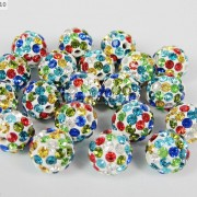 10Pcs-Quality-Czech-Crystal-Rhinestones-Pave-Clay-Round-Disco-Ball-Spacer-Beads-281214667880-ad90