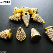 10Pcs-Rhinestones-Pave-Hip-Hop-Solid-Metal-Spike-Bracelet-Connector-Charm-Beads-261124838149-7e77
