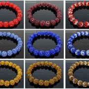 10mm-Czech-Crystal-Rhinestones-Pave-Clay-Round-Disco-Beads-Stretchy-Bracelet-281878300150-4