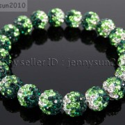 10mm-Czech-Crystal-Rhinestones-Pave-Clay-Round-Disco-Beads-Stretchy-Bracelet-281878300150-4702