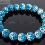 10mm-Czech-Crystal-Rhinestones-Pave-Clay-Round-Disco-Beads-Stretchy-Bracelet-281878300150-7cd8