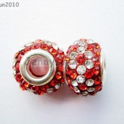 10pc-Quality-Czech-Crystal-Rhinestones-Flower-Beads-Fit-European-Bracelet-Charm-261238481452-06f9