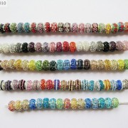 10pc-Quality-Czech-Crystal-Rhinestones-Flower-Beads-Fit-European-Bracelet-Charm-261238481452-3