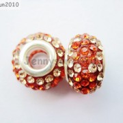 10pc-Quality-Czech-Crystal-Rhinestones-Flower-Beads-Fit-European-Bracelet-Charm-261238481452-3a69