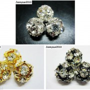 10pcs-Crystal-Rhinestones-Pave-Round-Ball-Spacer-Beads-Pick-your-Color-and-Sizes-260918250172-2