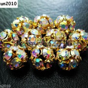 10pcs-Crystal-Rhinestones-Pave-Round-Ball-Spacer-Beads-Pick-your-Color-and-Sizes-260918250172-ef25