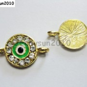 10pcs-Crystal-Rhinestones-Round-Evil-Eye-Bracelet-Connector-Charm-Beads-Pick-281107732172-5671