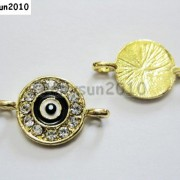 10pcs-Crystal-Rhinestones-Round-Evil-Eye-Bracelet-Connector-Charm-Beads-Pick-281107732172-6075