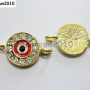 10pcs-Crystal-Rhinestones-Round-Evil-Eye-Bracelet-Connector-Charm-Beads-Pick-281107732172-df6a