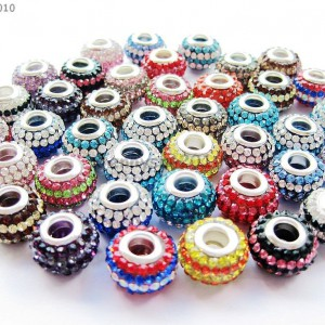10pcs-Mixed-Colored-Czech-Crystal-Rhinestones-Beads-Fit-European-Bracelet-Charm-370844855489