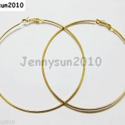 18K-Metal-10-Pairs-Large-Round-Hoops-Earring-Finding-Silver-Gunmetal-Gold-Plated-251016755252-71a0