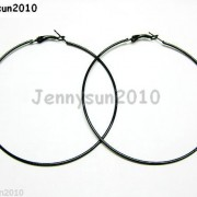 18K-Metal-10-Pairs-Large-Round-Hoops-Earring-Finding-Silver-Gunmetal-Gold-Plated-251016755252-8c54