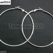 18K-Metal-10-Pairs-Large-Round-Hoops-Earring-Finding-Silver-Gunmetal-Gold-Plated-251016755252-ed67