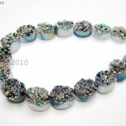 20P-Druzy-Quartz-Agate-Side-Drilled-Oval-Flat-Back-Connector-Cabochon-Beads-8039039-281176515392-2e7c