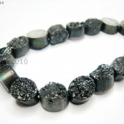 20P-Druzy-Quartz-Agate-Side-Drilled-Oval-Flat-Back-Connector-Cabochon-Beads-8039039-281176515392-548d
