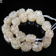 20P-Druzy-Quartz-Agate-Side-Drilled-Oval-Flat-Back-Connector-Cabochon-Beads-8039039-281176515392-855f