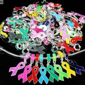 20Pcs-Big-Hole-Ribbon-Breast-Cancer-Awareness-Bracelet-Charm-Beads-Fit-European-261308524607