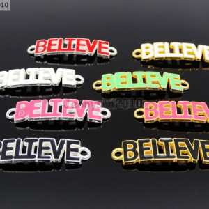 20Pcs-Colorful-Smooth-Metal-Believe-Bracelet-Connector-Charm-Beads-Mixed-281125381555