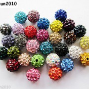 20Pcs-Quality-Czech-Crystal-Rhinestones-Pave-Clay-Round-Disco-Ball-Spacer-Beads-281053012535-2