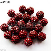 20Pcs-Quality-Czech-Crystal-Rhinestones-Pave-Clay-Round-Disco-Ball-Spacer-Beads-281053012535-e016