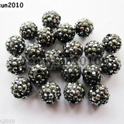 20Pcs-Quality-Czech-Crystal-Rhinestones-Pave-Clay-Round-Disco-Ball-Spacer-Beads-281053012535-ff4a