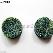 2Pcs-Druzy-Quartz-Agate-Flat-Back-Connector-Round-Cabochon-Beads-10mm-12mm-14mm-281050879629-713e
