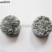 2Pcs-Druzy-Quartz-Agate-Flat-Back-Connector-Round-Cabochon-Beads-10mm-12mm-14mm-281050879629-7818