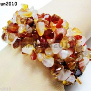 30mm-Wide-Natural-Gemstone-Chip-Nugget-Beaded-Fashion-Stretchy-Bracelet-Healing-251093768229-cb3a