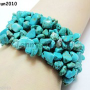 30mm-Wide-Natural-Gemstone-Chip-Nugget-Beaded-Fashion-Stretchy-Bracelet-Healing-251093768229-f6b6