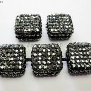 5Pcs-Crystal-Glass-Rhinestones-Pave-Flat-Square-Bracelet-Connector-Charm-Beads-261299309673-3345